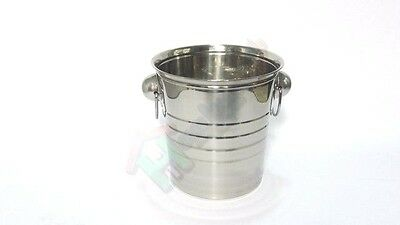 Secchiello champagne Stainless Steel Ice Bucket Wine Cooler Champagne Cooler