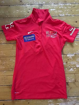 Curling Memorabilia Eve Muirhead Vegas Competition Shirt Signed By Scottish team