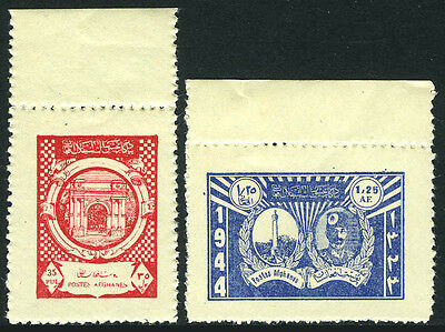 Afghanistan 343-344, MNH. 26th Year of Independence, 1944