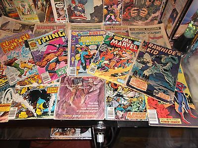 BIG LOW GRADE/READER'S LOT OF BRONZE AGE COMICS * LOT # 1 * Marvel, DC, Gold Key