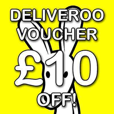 £10 Off Deliveroo Voucher Promo Code! *code In Listing*
