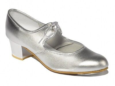Silver Tap Shoes Size 7