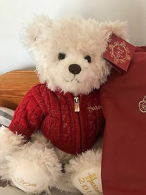 Harrods 2015 Christmas Bear Benedict. 30Th Anniversary Limited Edition
