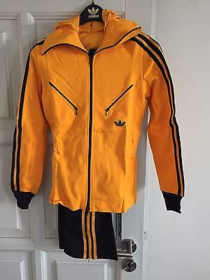 Vintage Adidas Track Suit 1970's Rare Made in West Germany D48 Deadstock Girls