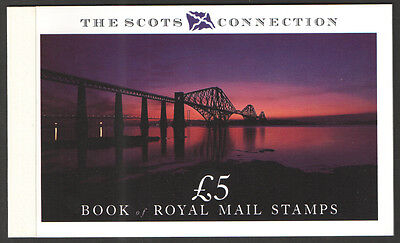Dx 10 1989 Of The Scots Connection Royal Mail Prestige  Booklet