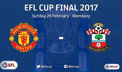 Pre-Order - Southampton v Manchester United - EFL Cup Final - 26 February 2017