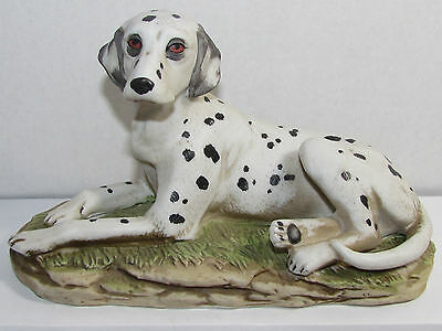Dalmation Dog (Laying Down) Porcelain Figurine - Markings: Swords # 1403