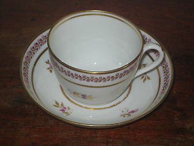 Charming English Regency Period Cup & Saucer Bowl