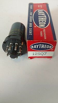 Raytheon    12Sq7   Electron  Tube   Untested   New In Box
