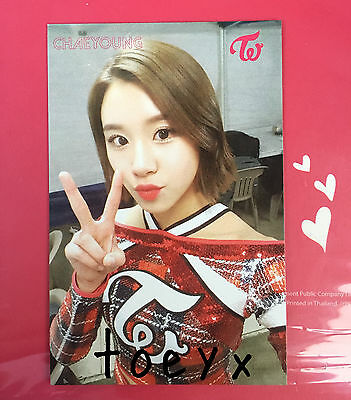 Twice Chaeyoung The Story Begins Thailand Edition Official Card