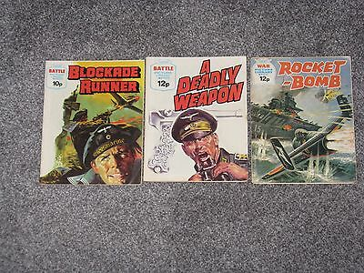 War & Battle picture library books