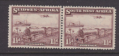 South West Africa 1937 Sg 96 joined pair m-mint