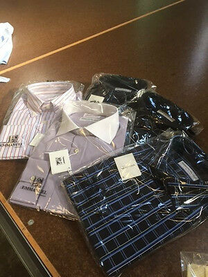 Stock camicie uomo Made In Italy