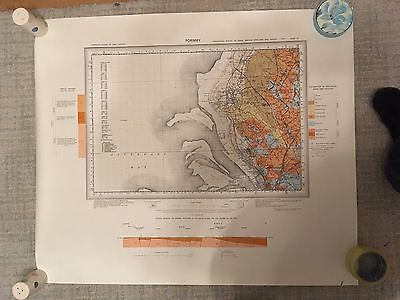 Geological Survey Map 1:50000 FORMBY drift sheets 83
