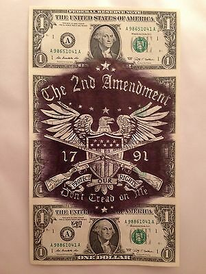 Hobo Dollar Currency Art Uncut Don't Tread On Me Signed Open Edition Print