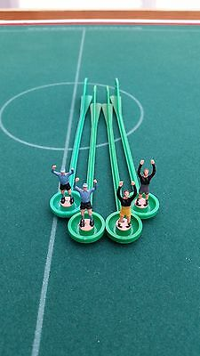 Subbuteo Lightweight Goalkeepers - Two Tone & Capped