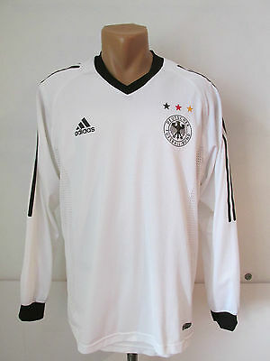 Germany 2002/2004 Home Player Issue Football Shirt Trikot Jersey Long Sleeve (M)