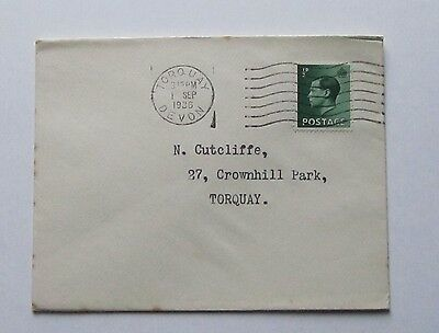 Great Britain King Edward VIII 1/2d stamp First Day Cover