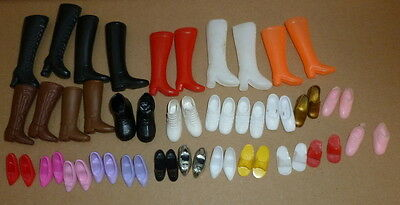 Vintage Sindy Barbie doll shoes and boots 1970's and 1980's