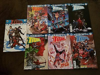 DC Rebirth: Complete Run of Titans: The Return of Wally West #1-6 + Rebirth #1