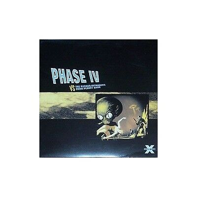 2 x LP: Phase IV - VS The Rubber-Intruders From Planet Baoh - Force Inc. Music W