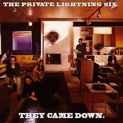 """2 x 12"""": The Private Lightning Six - They Came Down - Morbid Records - morbid 05"""
