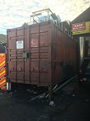 20ft steel container 20 ft