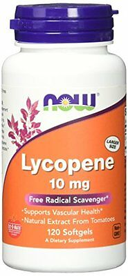 Now Foods Lycopene 10mg, Soft-gels, 120-Count Best Buy 06/17