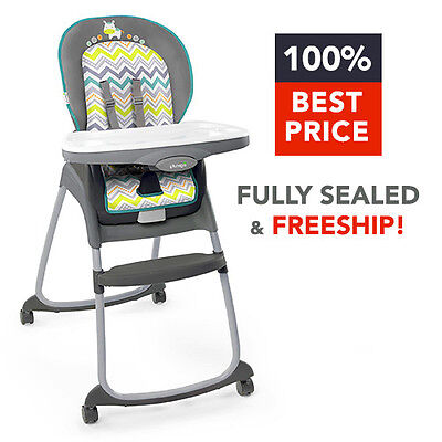 NEW, GENUINE & FREESHIP! Ingenuity Trio 3-in-1 Ridgedale High Chair *RIDGEDALE*