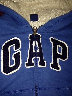 boys blue gap hoody age 5