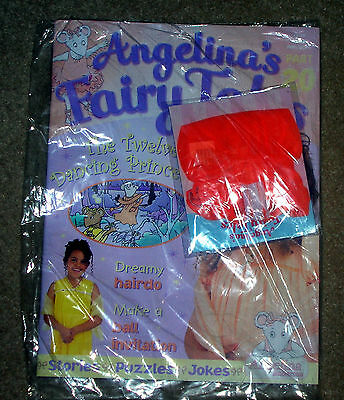 Angelina Ballerina Fairy Tales Magazine Comic - Unopened - Dancing Princesses 20