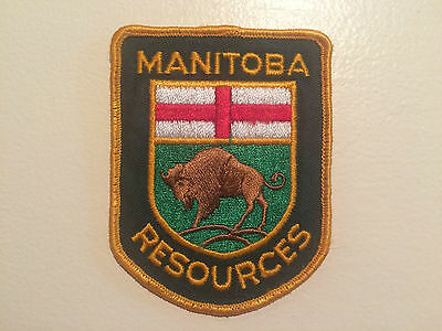 Manitoba Conservation (Natural Resources) - Police Patch