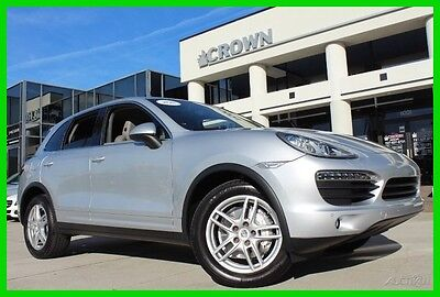 2011 Porsche Cayenne Clean CarFax Super Clean Vehicle 2011 S Used 4.8L V8 32V Automatic AWD SUV Moonroof Premium
