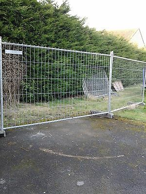 Temporary METAL Security Fence Panels Building Site Fencing +Foot BUILDER FARMER