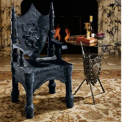 Game of Thrones Dragon of Upminster Castle Throne Arm Chair Collectors Edition