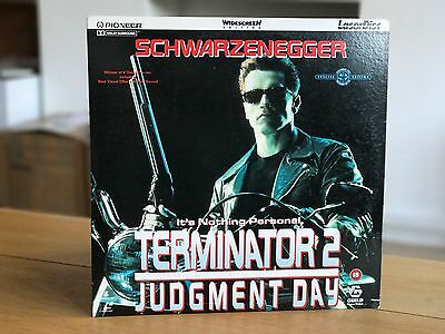 Terminator 2  Laserdisc Widescreen with extra disc The Making of