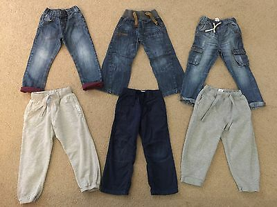 Bundle Of Next Boys Trousers Age 3-4 Years, Jeans, Joggers