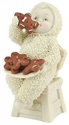 Snowbabies Eating All The Gingerbread Ornament Figure