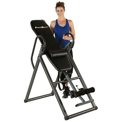 Best Fitness Inversion Table Heavy Duty Pro Gravity Hang Back Relief Exercise