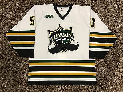 BO HORVAT Game Worn London Knights Jersey 2013-14 OHL Season VANCOUVER CANUCKS