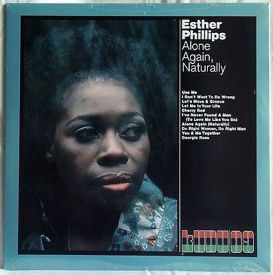 ESTHER PHILLIPS ALONE AGAIN NATURALLY LP 180g SEALED