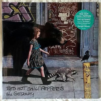 RED HOT CHILI PEPPERS THE GETAWAY 2LP 180g SEALED