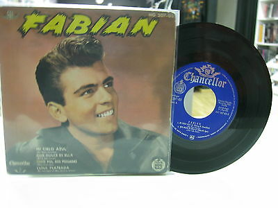 "Fabian 7"" Ep Spanish My Blue Heaven + 3 1961"