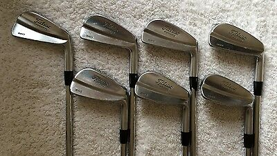 Titleist 660 Forged irons 4-PW. S300 Rare irons !! FREE P&P !! PGA Pro seller !!