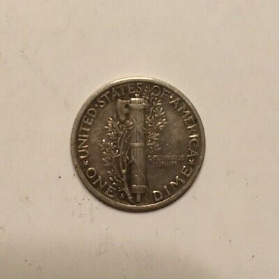 """1944 """"s"""" Minted US Silver Dime"""