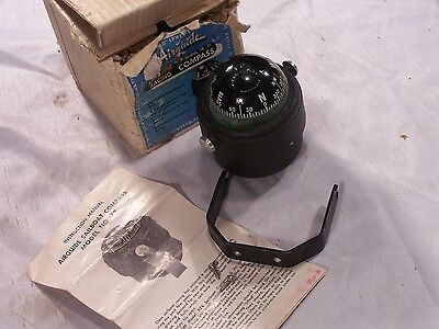 New Vintage New Airguide Sailboat Racing Compass Model 78