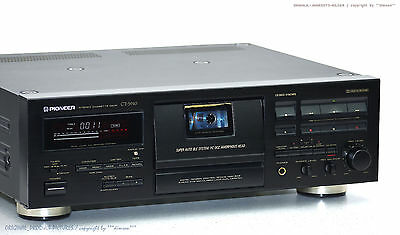 PIONEER CT-S910 High-End Cassette Tape Deck!! Top-Zust.! Revidiert +1J.Garantie!