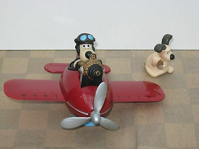 Wallace & Gromit Stationary Organiser - Gromit In Plane