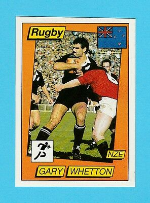 Rugby - Panini - Supersport Rugby Sticker No. 141 -  Gary  Whetton  - 1986