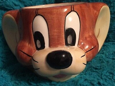 Tom And Jerry Turner Entertainment Vintage Jerry Mouse Ceramic Head Cup